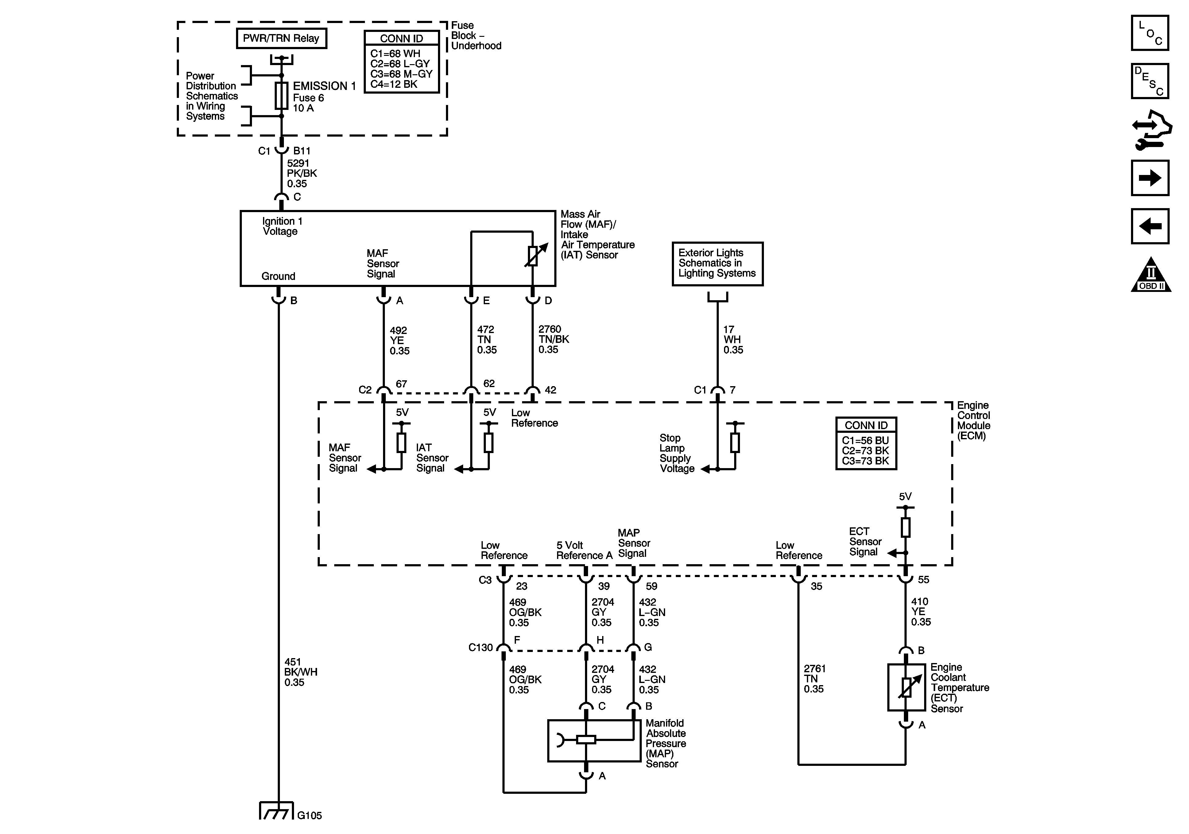 2007 Pontiac G6 Maf Sensor Wiring Diagram - Wiring Diagrams DataUssel
