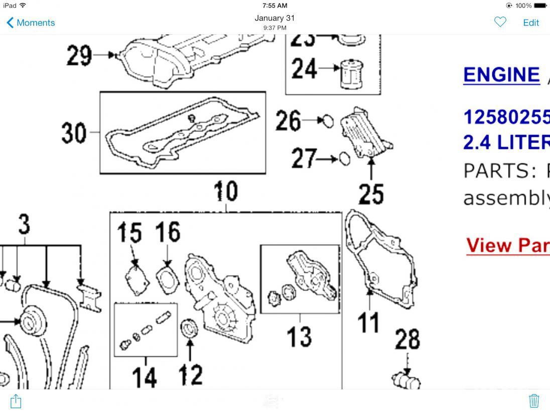 2006 24l Oil Cooler Leak Pontiac G6 Forum Diagram Of 2 4 Liter Engine Click Image For Larger Version Name Views 414 Size 907