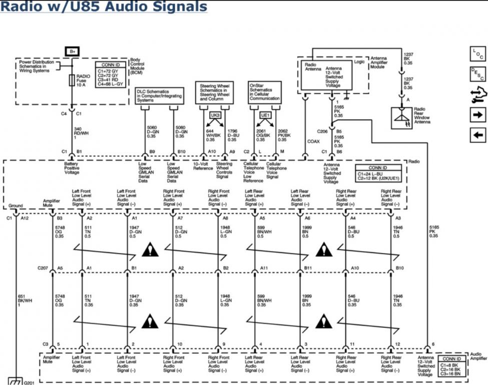 07 Pontiac G5 Radio Wiring Diagram