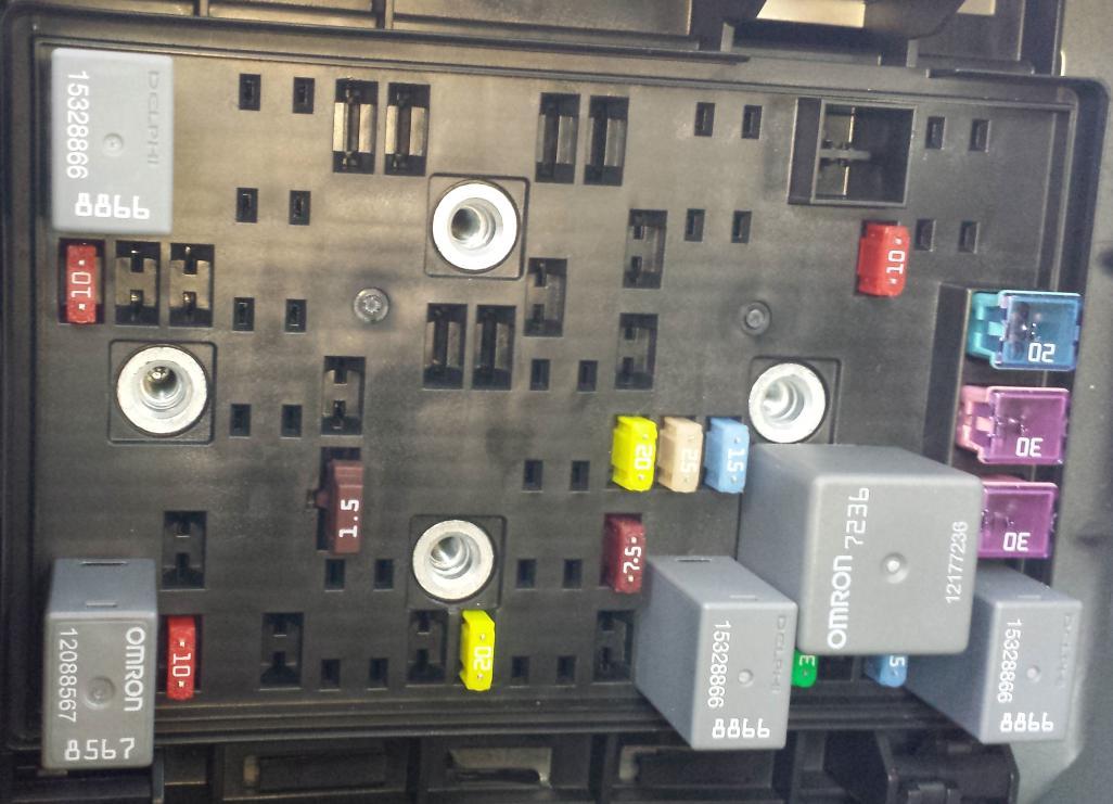 2007 pontiac g6 rear fuse box rear fusebox pontiac g6 forum  rear fusebox pontiac g6 forum
