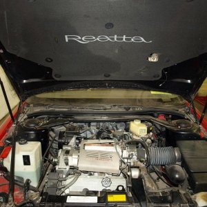 '90 Buick Reatta - Under Little Red Riding's Hood!